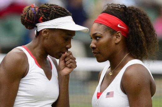 Venus ir Serena Williams