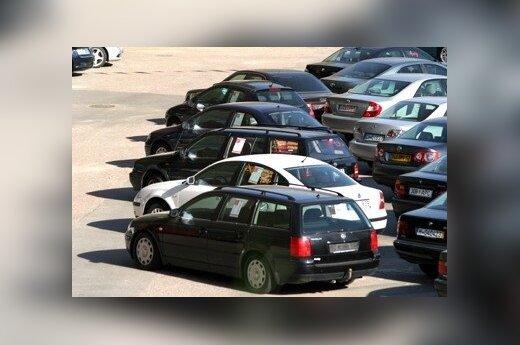 В Вильнюсе станет меньше мест бесплатной парковки
