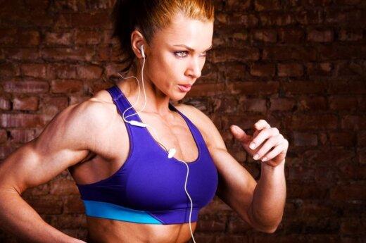 Kokias treniruotes rinktis, norint sudeginti daugiau riebalų?