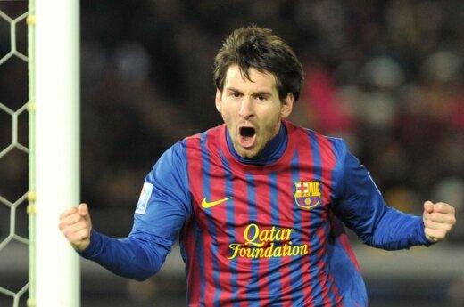Лучшим футболистом года третий раз подряд признан Месси