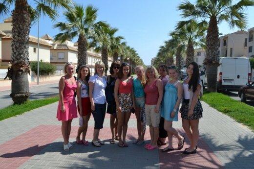 Mokinių kelionė į Ispaniją – pilna įspūdžių