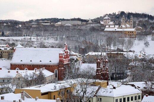 В Литву еще придут сильные морозы