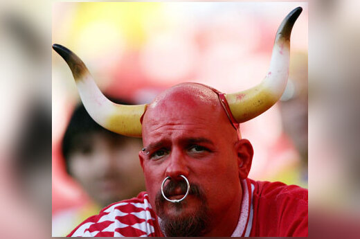"Nuliūdęs Niujorko ""Red Bulls"" futbolo komandos fanas"