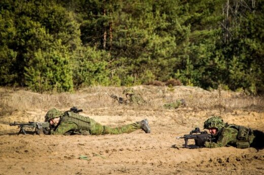 Five foreign soldiers get metal poisoning during training in Lithuania