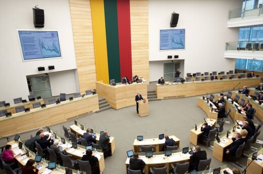 Lithuanian parliament convenes for extraordinary session
