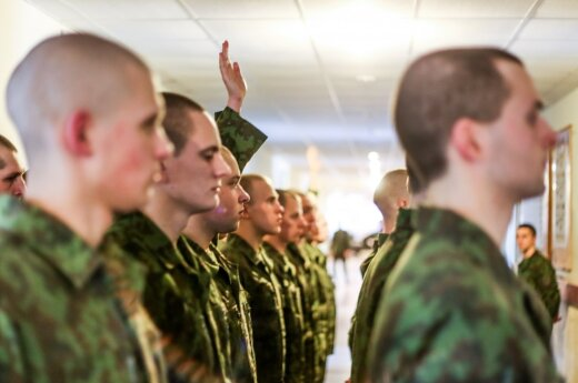 On the military training in the Lithuanian Army