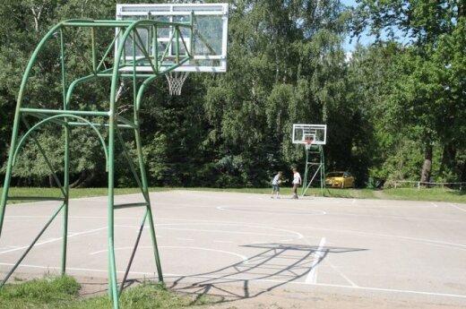 Konkursas! Mano kiemo krepšinis