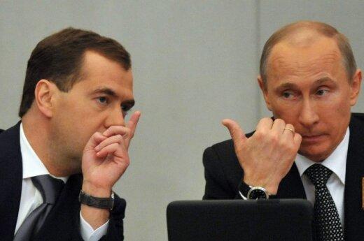 """Rosja: koniec """"tandemu""""?"""