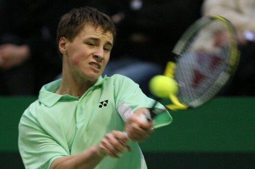 Беранкис вышел в ¼ финала Katowice Open