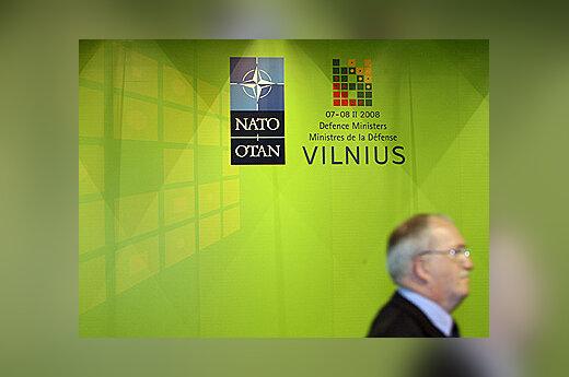 NATO gynybos ministrų susitikimas Vilniuje