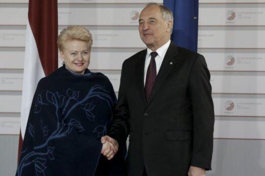 Dalia Grybauskaitė, Andris Bėrzinis