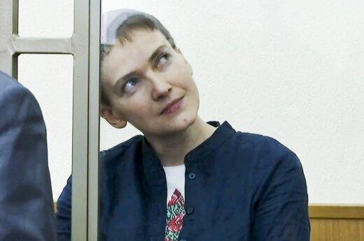 Савченко потребовала пустить к ней иностранных врачей