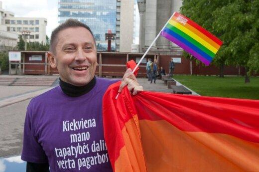 Vladimir Simonko of the Lithuanian Gay League