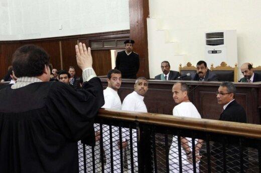 """Журналисты """"Аль-Джазиры"""" приговорены к 7 годам тюрьмы"""