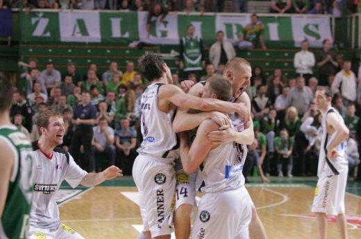 Lietuvos rytas в четвертый раз получил золотую медаль ЛБЛ