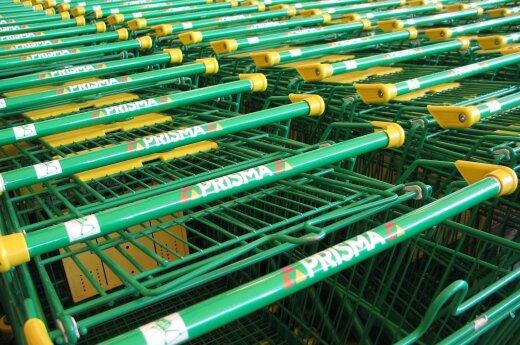 Prisma, vežimėlis, prekybos centras