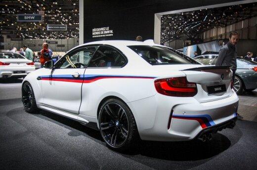BMW Ženevoje demonstruoja, kas nutiks visiems jos modeliams