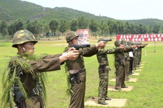 Pratybos Šiaurės Korėjoje