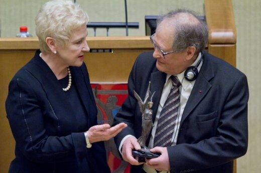 Irena Degutienė ir Sergejus Kovaliovas