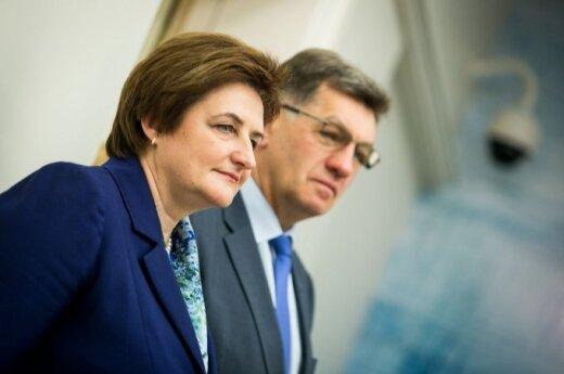 Loreta Graužinienė and Algirdas Butkevičius