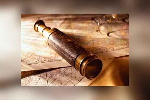 Žiūronas, žemėlapis, matavimas