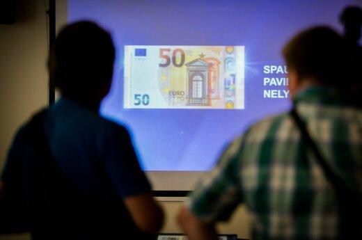 Появились новые 50-евровые банкноты