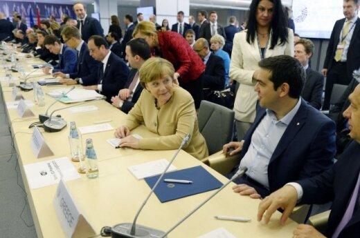 "President Grybauskaitė: Some countries would like Europe to be ""a tea club"""