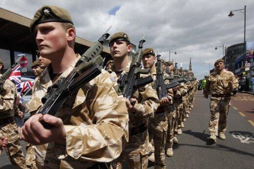 Iš Didžiosios Britanijos – svarbi žinia dėl Baltijos šalių gynybos