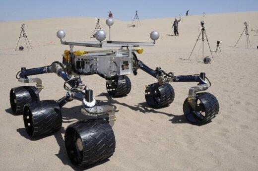 """Curiosity dotarł do """"ziemi obiecanej"""""""