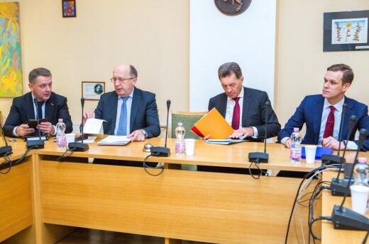 Eligijus Masiulis, Andrius Kubilius, Algirdas Butkevičius, Gabrielius Landsbergis