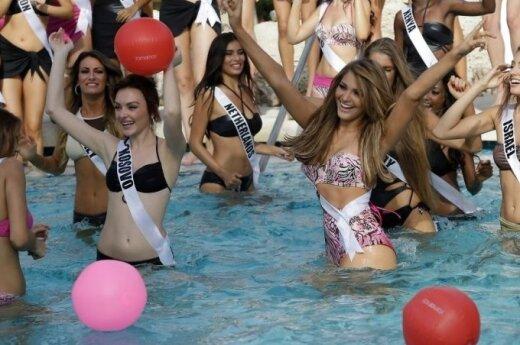ФОТО: Участницы Miss Universe 2015 в бикини
