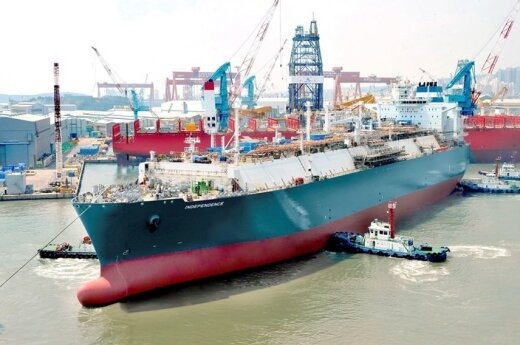 """Lithuania's LNG tanker """"Independence"""""""