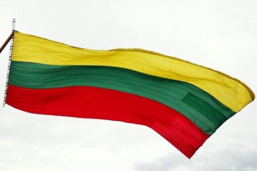В День государства сожгли государственный флаг