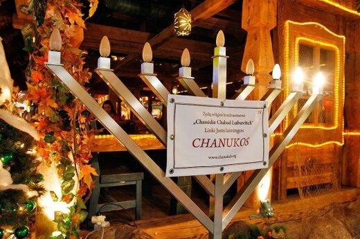 Hanukkah in Kaunas with Chassidic pop and traditional latkes