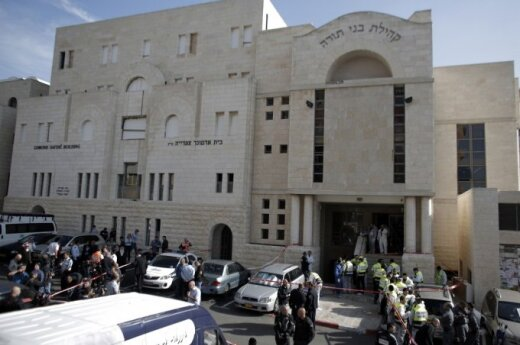 Lithuania condemns terrorist attack in Jerusalem synagogue