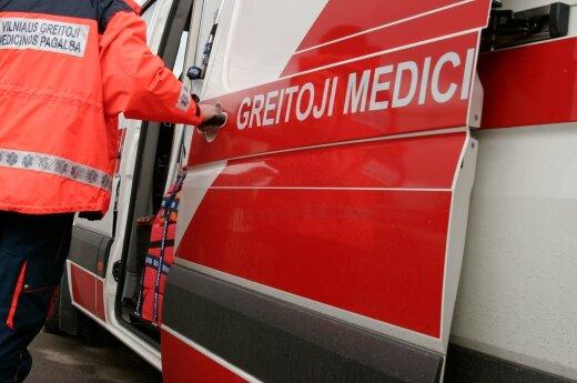 В клайпедскую больницу доставлена больная и избитая девочка