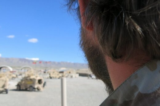 """Eskadrono """"Aitvaras"""" karys: patikėkite, mes tikrai žinome, kodėl kovojame Afganistane"""