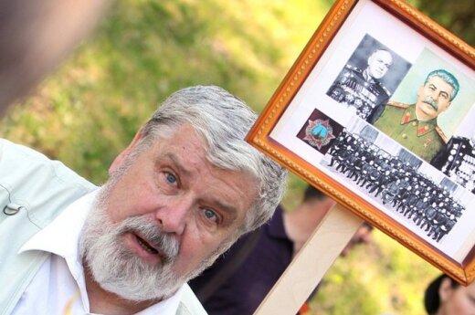 Kara pieniężna za plakat ze Stalinem