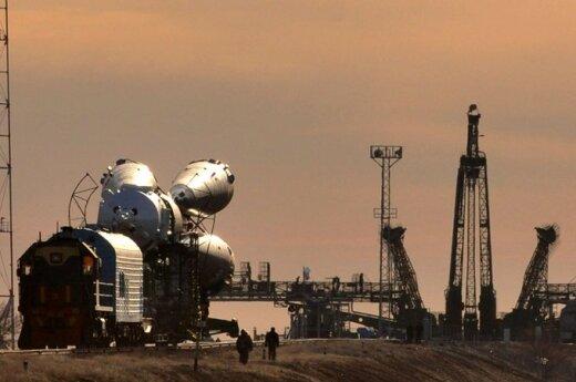 Darbai Baikonūro kosmodrome
