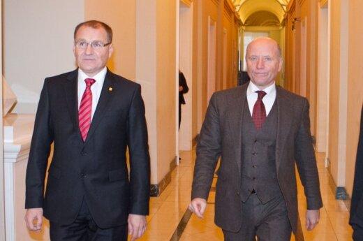 Algis Čaplikas ir Raimundas Palaitis