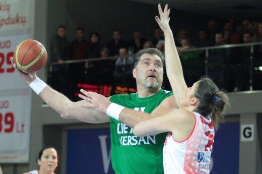 Arvydas Sabonis ir Iveta Šalkauskė