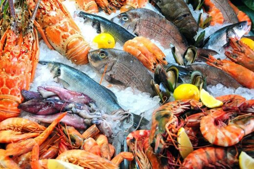 Lithuanians sweeping seafood markets in Riga