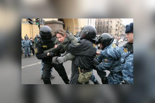 Opozicijos mitingas Sankt Peterburge