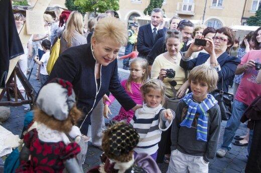 Grybauskaitė: Ludzie mnie kochają, ale nie lubią mnie polityczne elity
