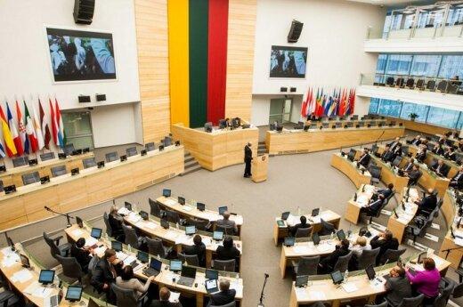 Парламент Литвы призывает Украину не применять силу и созвать ассамблею