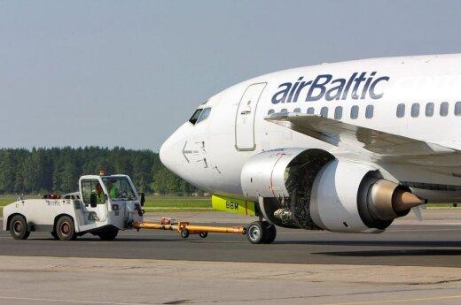 Во вторник отозваны два рейса Air Baltic