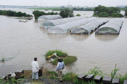 Potvyniai Japonijoje