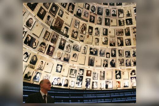 Norbertas Lammertas Holokausto memoriale Jeruzalėje