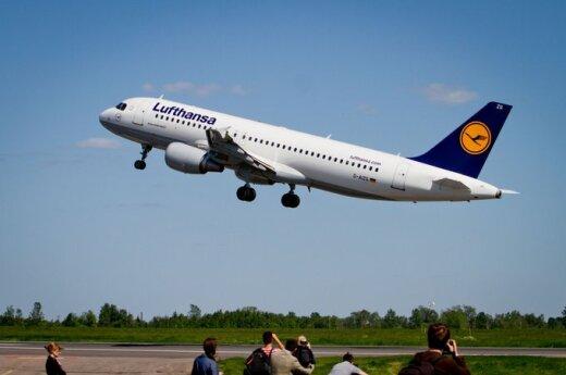 Z powodu strajku pilotów Lufthansy odwołano rejs z Wilna do Frankfurtu