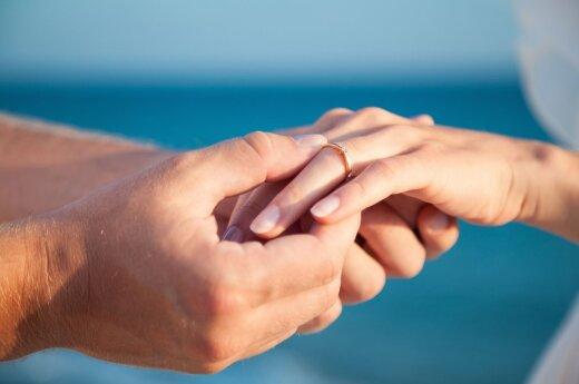 В прошлом году в Литве зарегистрировано больше браков